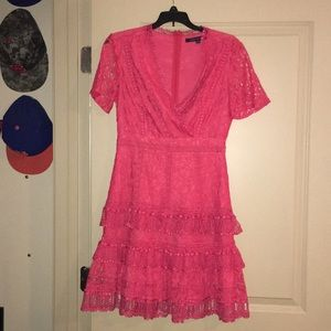 French connection Azalea lace dress